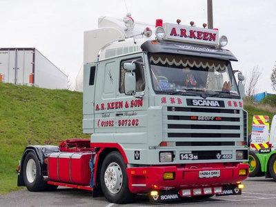 Tekno Tekno Scania 3-serie Streamline 4x2 A.R. Keen
