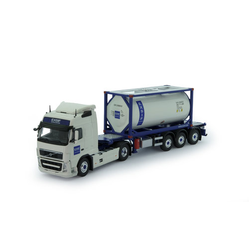 Tekno Tekno Volvo FH03 Globetrotter with ISO tankcontainer Exsif
