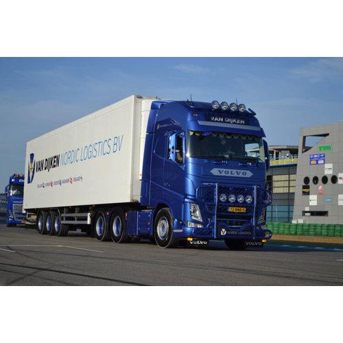 WSI WSI  Volvo FH4 Globetrotter XL Koeloplegger van Dijken