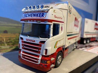 Tekno Tekno Scania R Topline Zweedse combinatie LZV Lycksele