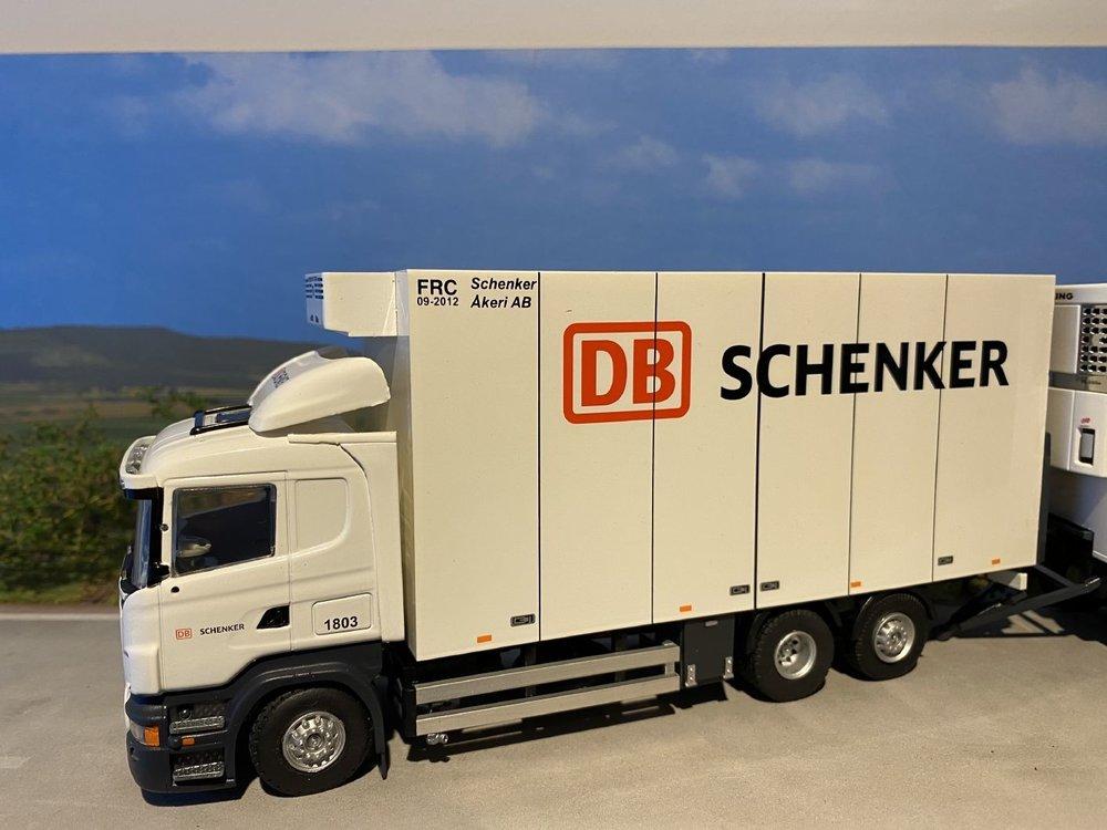 Tekno Tekno Scania R Lowline Zweedse combinatie LZV Schenker DB Logistics