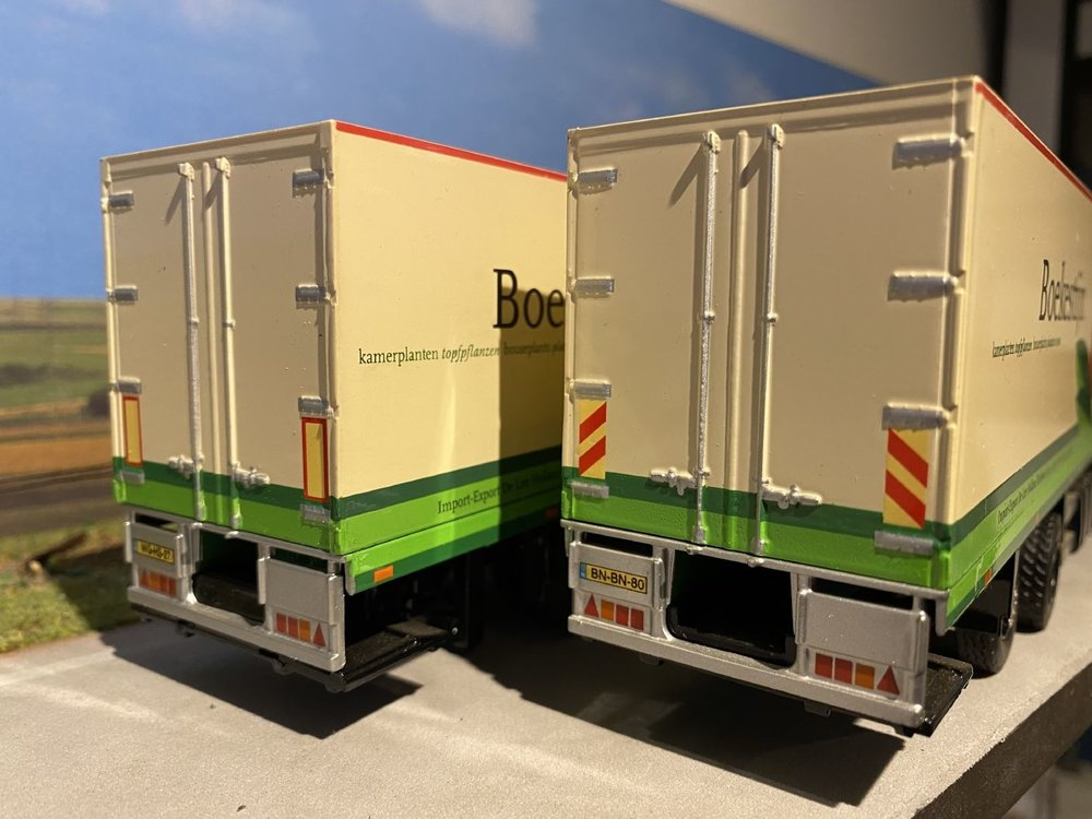 Tekno Tekno Volvo FH12-420 Glob. XL vrachtwagen met wipkar Boekestijn