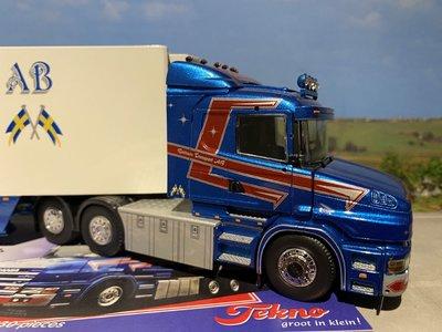 Tekno Tekno Scania T4 met koeloplegger Ruttners