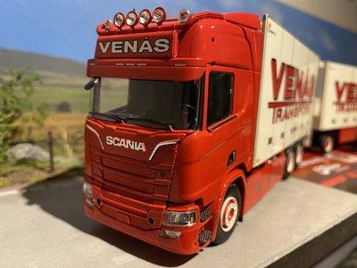 Tekno Tekno Scania R NGS Highline motorwagen met 3-assige aanhanger Venas