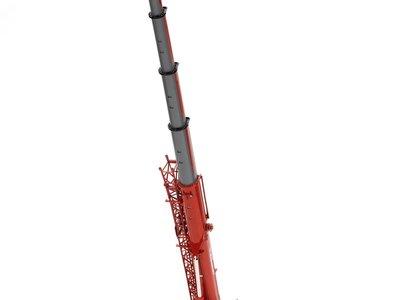 Mammoet store NZG Liebherr LTM 1250-5.1 Mobile kraan Mammoet