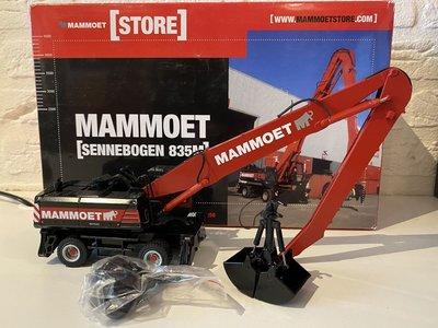 Mammoet store NZG Sennebogen 835M schrootkraan Mammoet