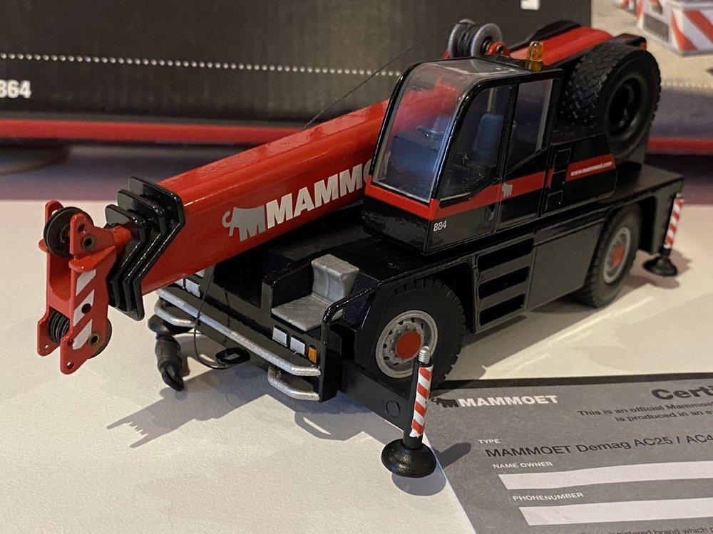 Mammoet store Conrad Demag AC25 + AC40 set Mammoet