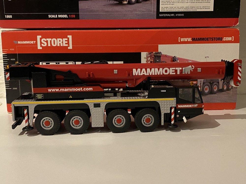 Mammoet store Conrad Demag AC100/4 Mobile kraan Mammoet