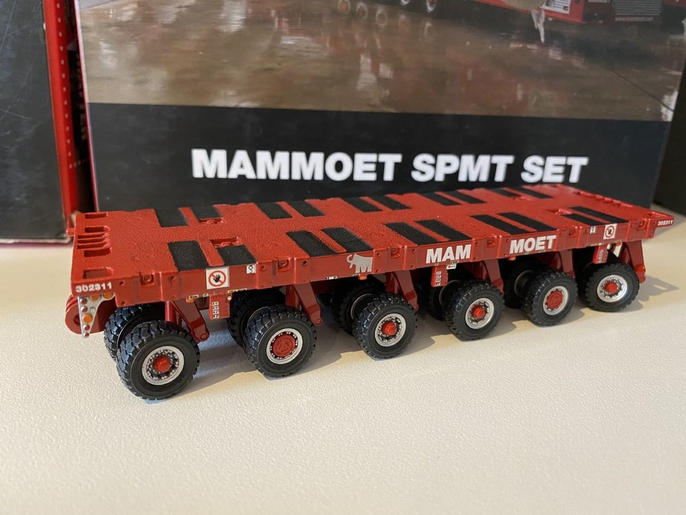 Mammoet store IMC scheuerle SPMT set 6 + 4 + PPU Mammoet