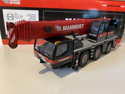Mammoet store Conrad Demag AC55 Mobile kraan Mammoet