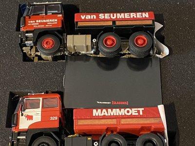 Mammoet store WSI DAF3300 w/ballast box Classics box Mammoet / van Seumeren