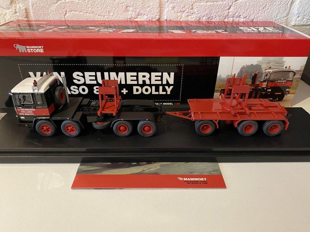 Mammoet store IMC Pegaso 8x4 + dolly van Seumeren / Mammoet
