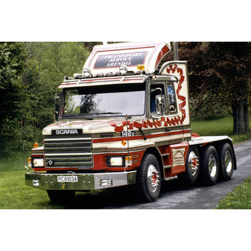 WSI WSI  Scania 3-series Torpedo 8x4 Midtstol
