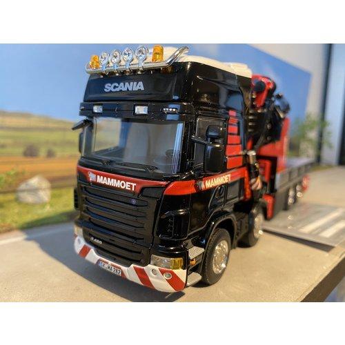 Mammoet store WSI Scania R480 8x2 + aggregaat Mammoet