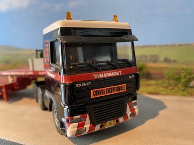 Mammoet store Tematoys DAF 95XF  6x2 with MCO 121-08V Mammoet