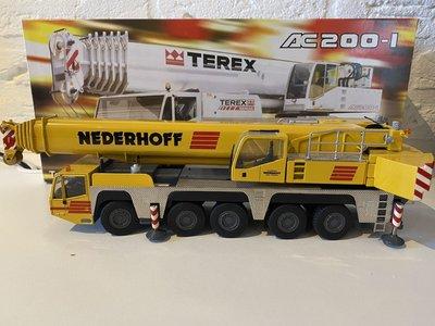 NZG NZG Terex-Demag AC200-1 Mobil crane Nederhoff