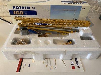 TWH Collectibles TWH  Manitowoc Potain IGO 21 snelopbouw kraan