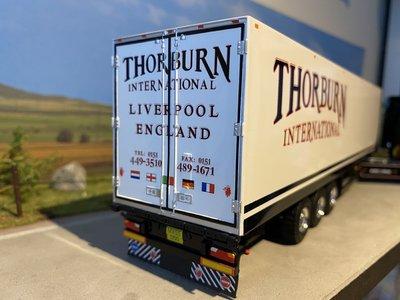 Tekno Tekno Scania R580  Topline 4x2 met koeloplegger Thorburn