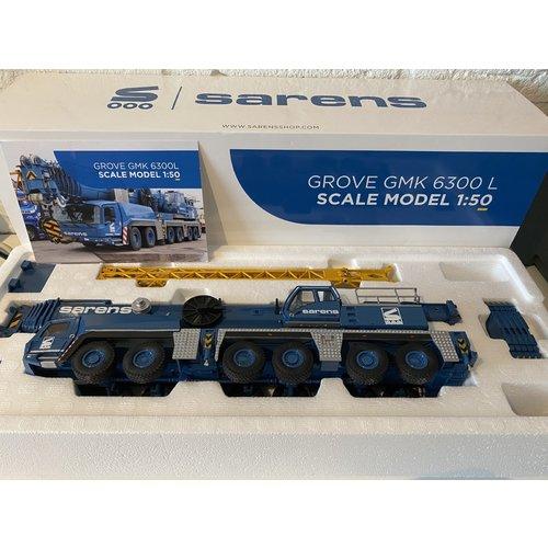 Sarens store Conrad Grove GMK 6300L Mobil crane Sarens