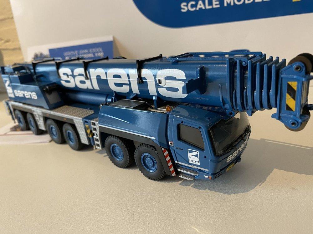 Sarens store Conrad Grove GMK 6300L Mobile kraan Sarens