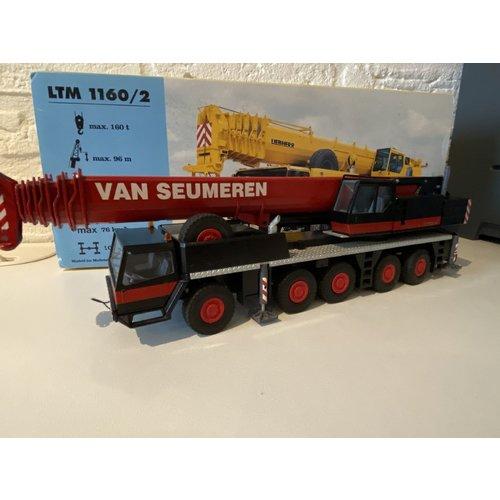 Mammoet store Conrad Liebherr LTM 1160/2 Mobiele kraan  van Seumeren