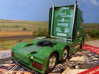 Tekno Tekno Scania T730 Torpedo 6x4 Rüssel truckshow 2019