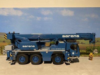 Sarens store WSI Liebherr LTM 1050-3.1 kraanwagen Sarens