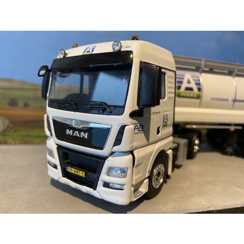 WSI WSI Exclusive MAN TGX XXL 4x2 met tanktrailer 3-axle AB Transport Group