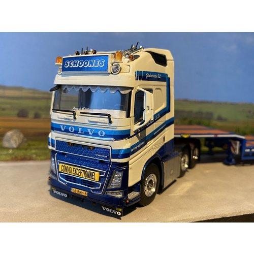 WSI WSI Volvo FH4 Glob. XL 6x2 met dieplader Schoones