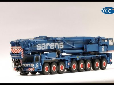 Sarens store YCC Liebherr LTM 1400 Mobil crane Sarens