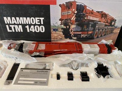 Mammoet store YCC Liebherr LTM 1400 Mobile kraan Mammoet