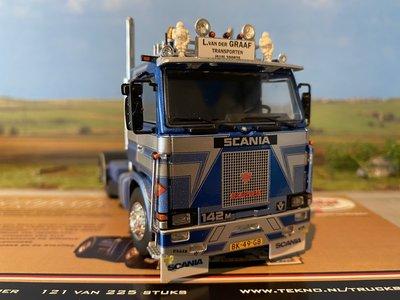Tekno Tekno Scania 2-serie 142 4x2 L. van der Graaf