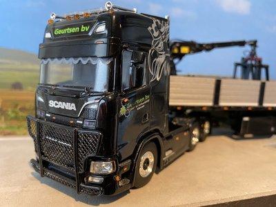 WSI WSI Scania S 6x2 met stenen oplegger Geurtsen