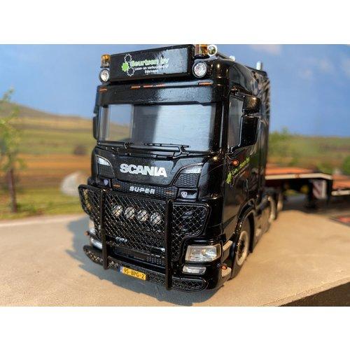 WSI WSI EXCLUSIVE Scania S 6x2 met dieplader Geurtsen