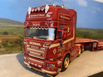 WSI WSI Scania R Topline 6x2 met dieplader Karsten V. Olesen