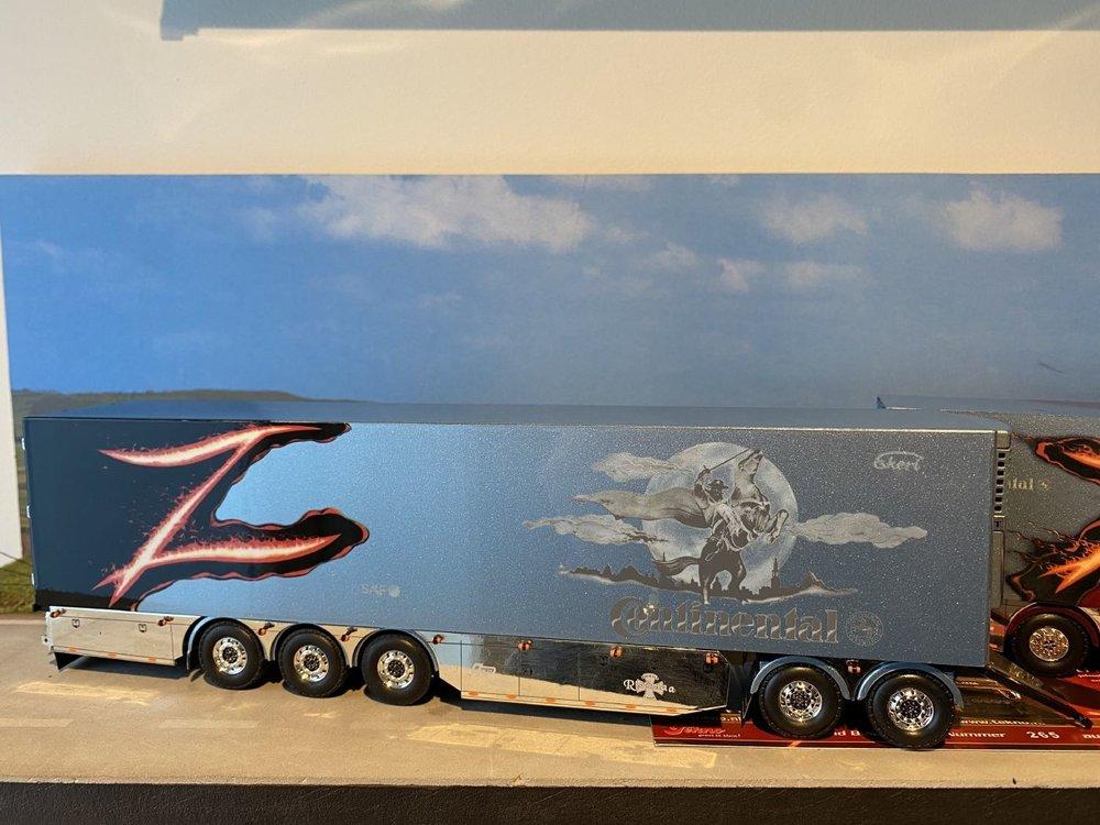 """Tekno Tekno R Topline LZV combinatie Ristimaa """"Zorro"""" Finland"""