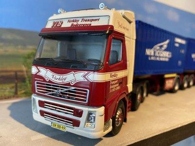 Tekno Tekno Volvo FH Glob. XL 6x2 LZV combinatie met container opbouw Verkleij