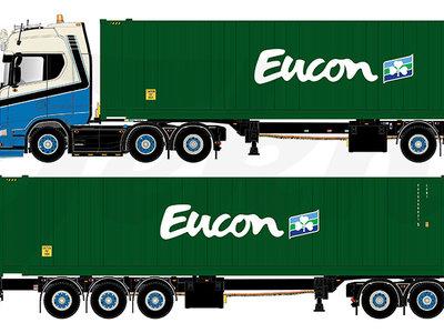 Tekno Tekno Scania Next Gen S-serie Higline met 45 ft. container Bas Dijkstra Logistics