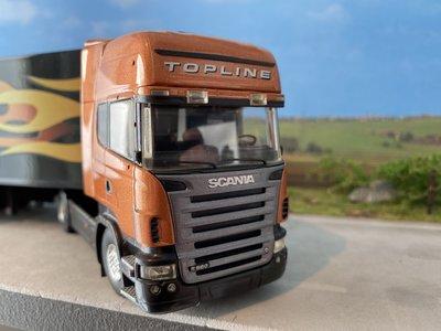 Tekno Tekno Scania R580 Topline met koeloplegger Demo model