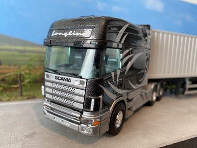 Tekno Tekno Scania 164L Longline met 2x20ft. container Beers bedrijfswagens