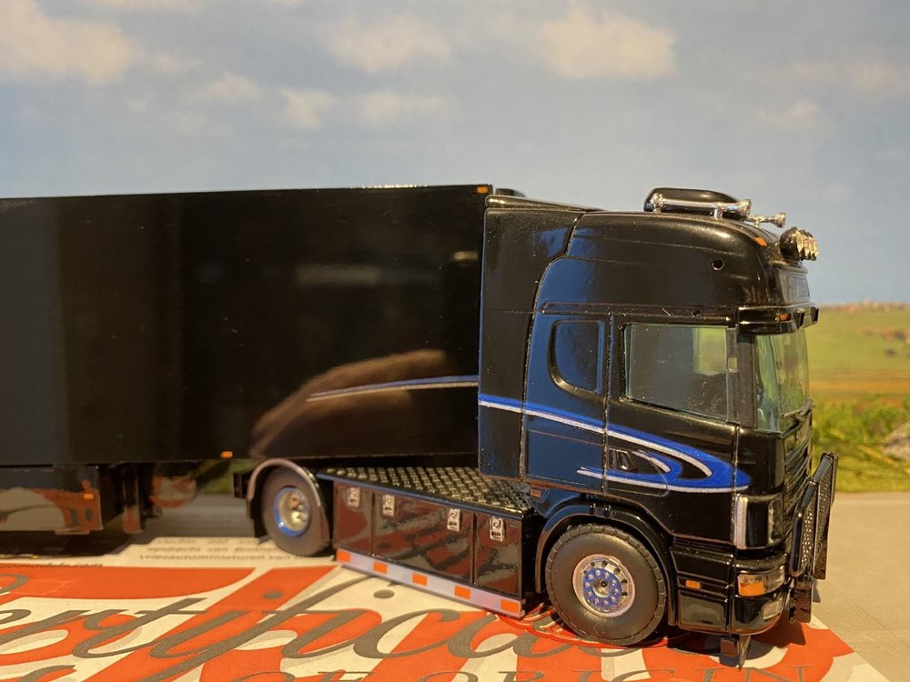 Brothers Frigo Tekno Scania 164L/480 Topline met koeloplegger FH Trans