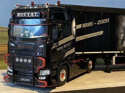 WSI WSI Scania S Highline 4x2 met volume oplegger Bouyat