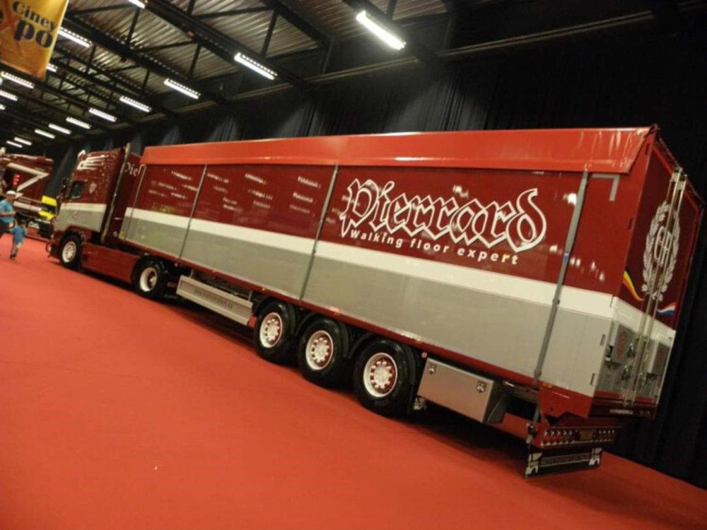 WSI WSI Scania R5 Topline 4x2 with Volume trailer Transports Pierrard