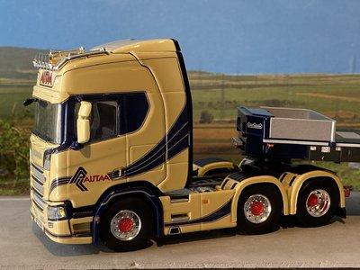 WSI WSI  Scania R Highline 6x2 Twinsteer lowloader - 3 axle Autaa