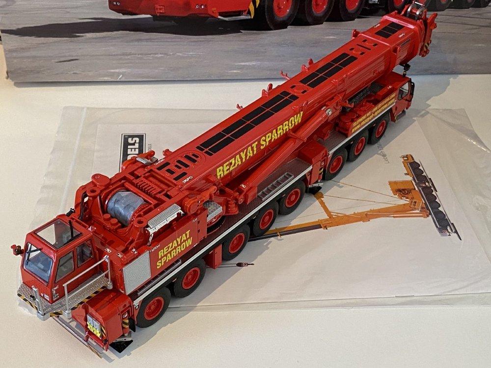 WSI WSI Liebherr LTM 1500-8.1 Mobilcrane Rezayat Sparrow