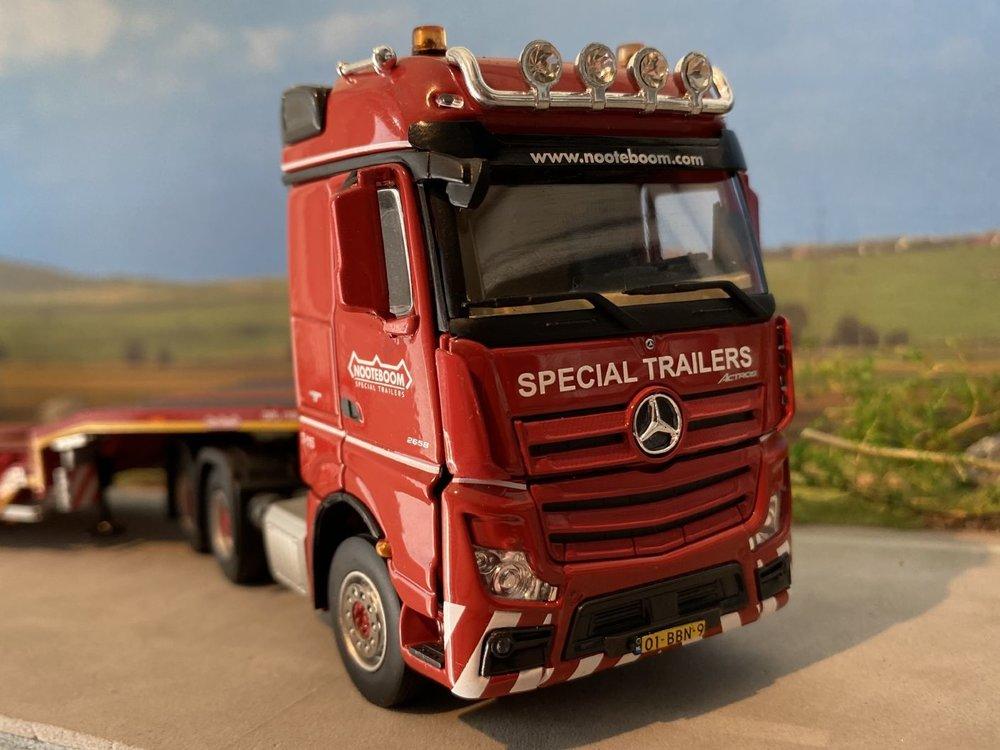 IMC IMC Mercedes Benz Actros  6x4 Nooteboom OSDS semi lowloader Nooteboom redline