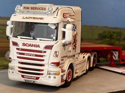 WSI WSI Scania streamline Highline 6x2 + semi lowloader - 4axle + ramps PJM Services