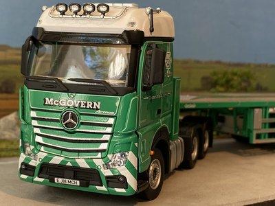 IMC IMC Mercedes-Benz Actros BigSpace 6x4 with Nooteboom 6-axle Ballasttrailer McGovern