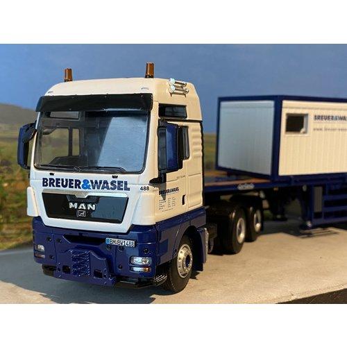 WSI WSI MAN TGX XXL 6x4 + Ballast trailer Breuer & Wasel