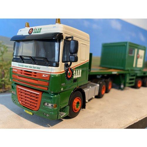 WSI WSI DAF 105XF 6x4 with ballasttrailer + container Koninklijke Saan